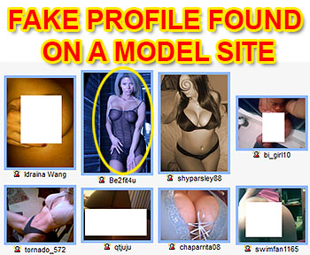 HotFlings.com fake profile