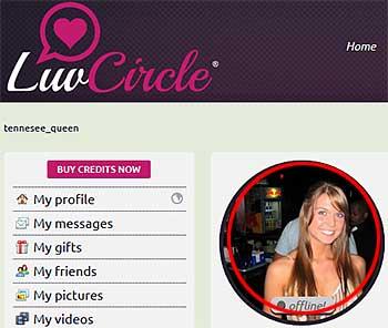 LuvCircle.com fake member