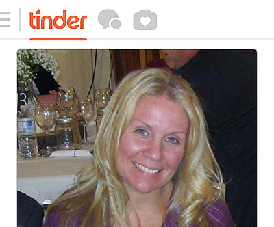 Tinder online dating website