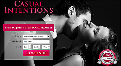 CasualInentions.com home page