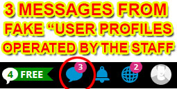 Fake user profiles