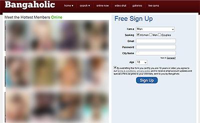 Bangaholic.com home page