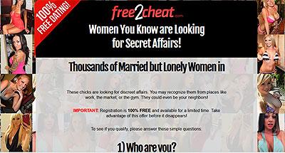 Free2Cheat.com home page