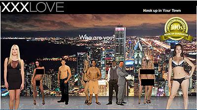 XXXLove.com home page