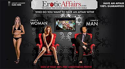 EroticAffairs.com home page
