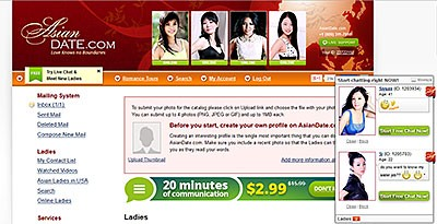 Asiandate Homepage