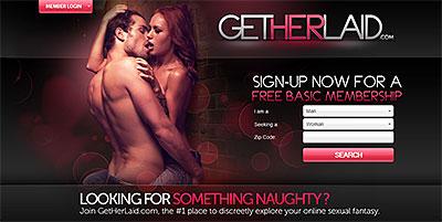 GetHerLaid.com home page