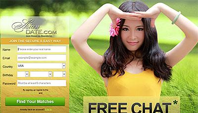 AdoreAsia.com home page