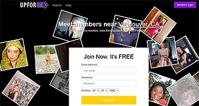 UpForSex.com_home_page