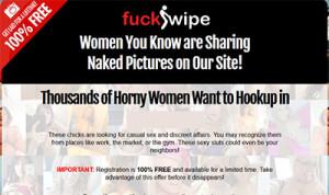 FuckSwipe.com home page