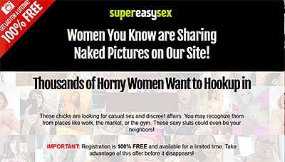 SuperEasySex.com home page
