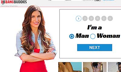 BangBuddies.com home page