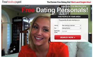FreeHookupSpot.com home page