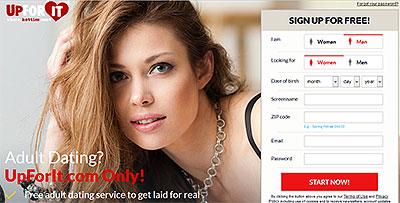 UpForIt.com home page