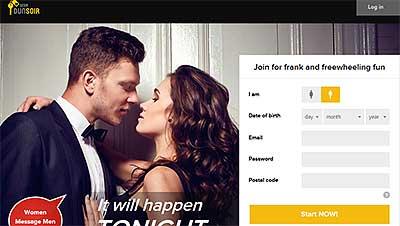 Desirdunsoir.com home page