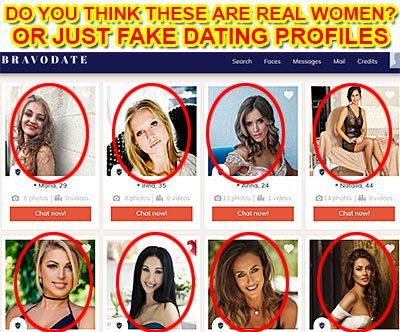 Falsk dating profil